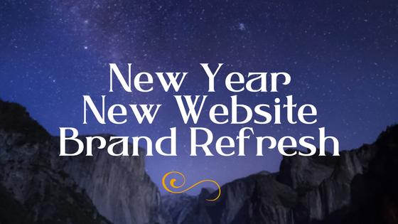 New Year, New Website, Brand Refresh