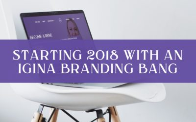 iGina rebrand and new website – Starting 2018 with a branding bang!
