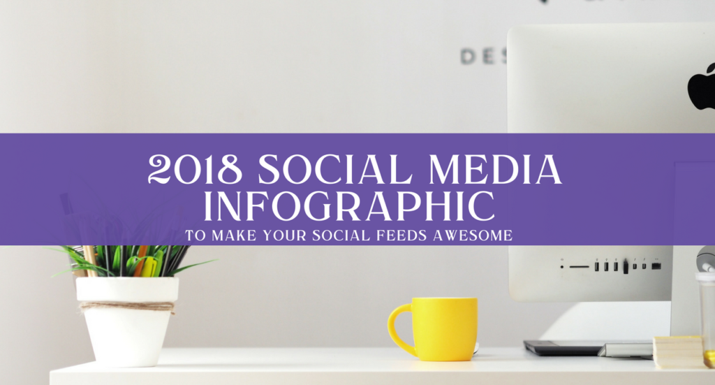Social Media infographic 2018