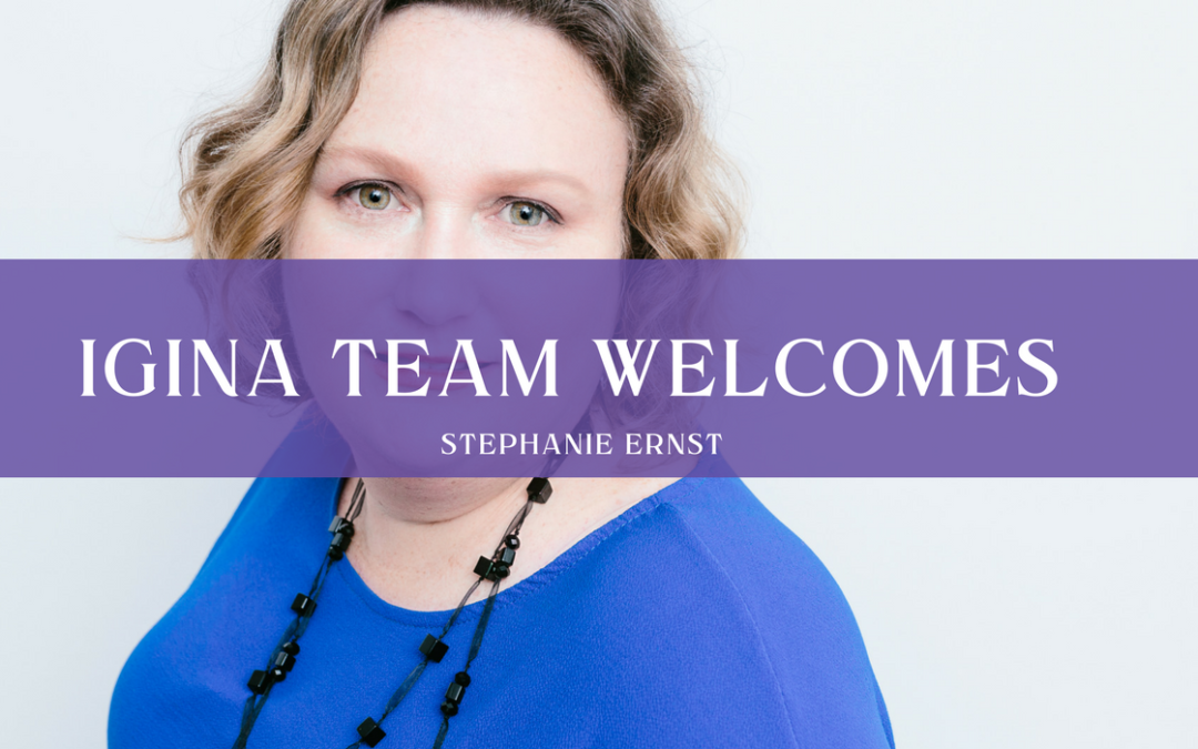 iGina team welcomes Stephanie Ernst