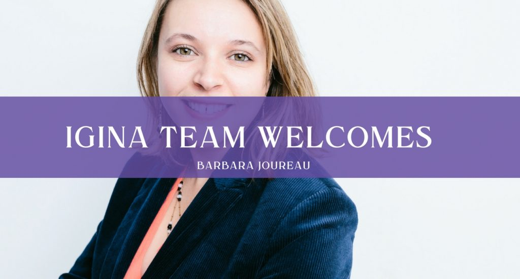 iGina team Barbara Joureau