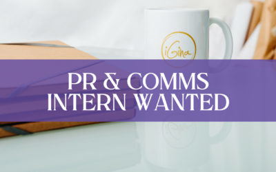PR & Communications Intern Wanted