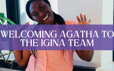 Welcoming Agatha to the iGina team