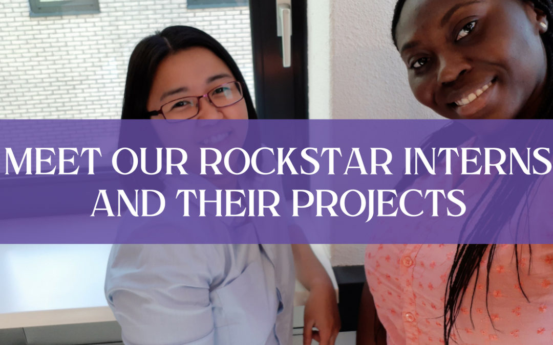 Meet our rockstar interns and their projects