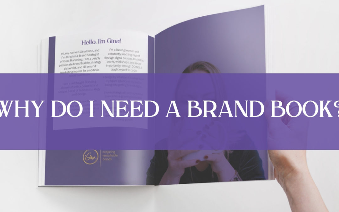 Why do I need a Brand Book?