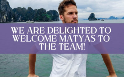 We Are Delighted to Welcome Matyas to the Team!
