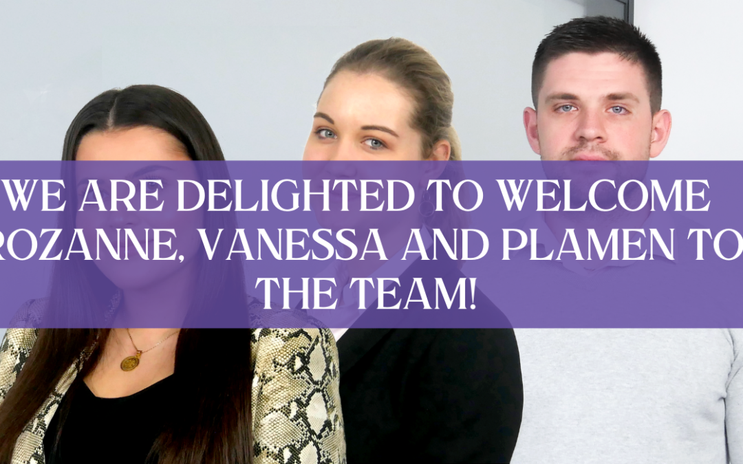 Welcome Rozanne, Vanessa and Plamen to the iGina Team!