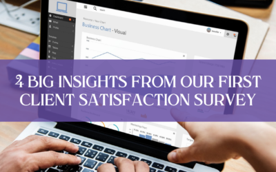 4 Big Insights from Our First Client Satisfaction Survey