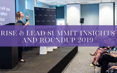 Rise & Lead Summit Insights and roundup 2019