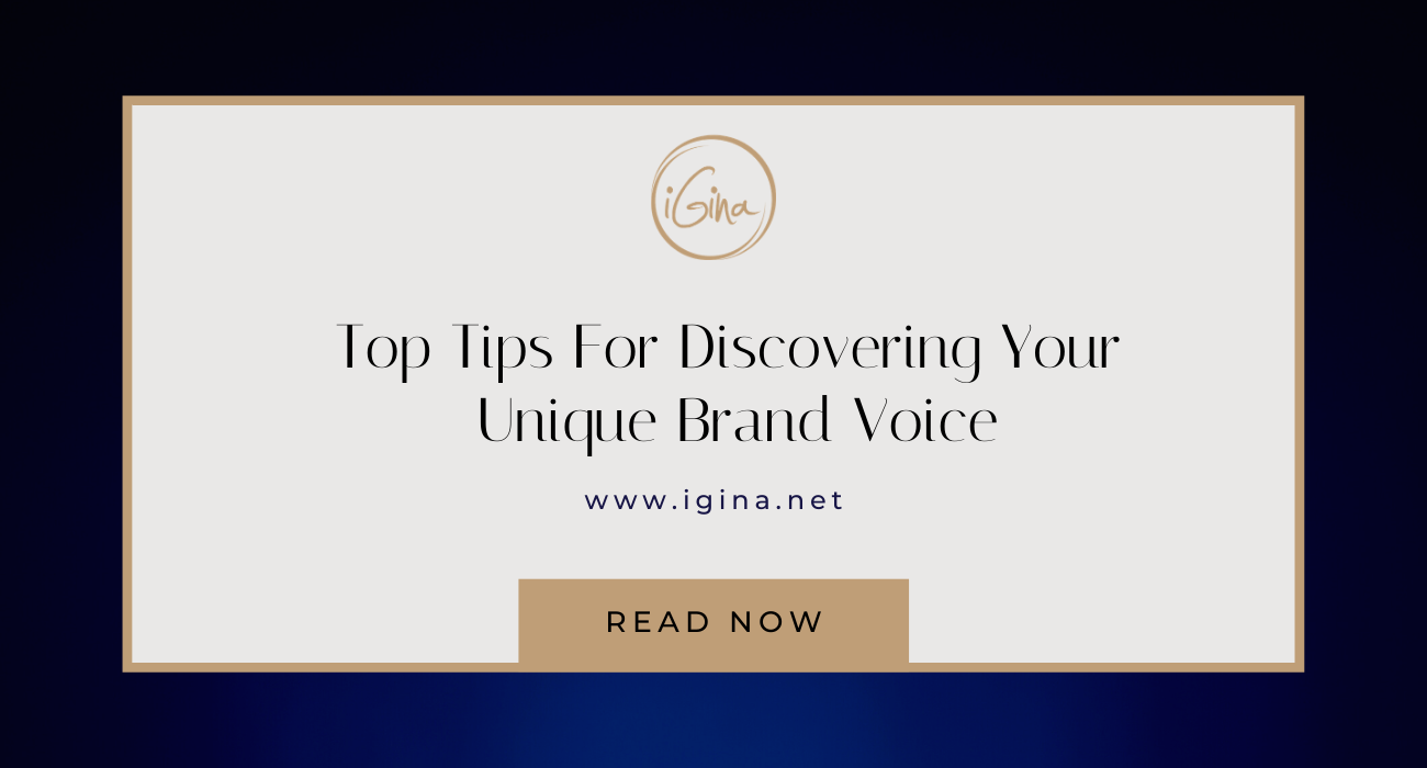 Top Tips For Discovering Your Brand Voice