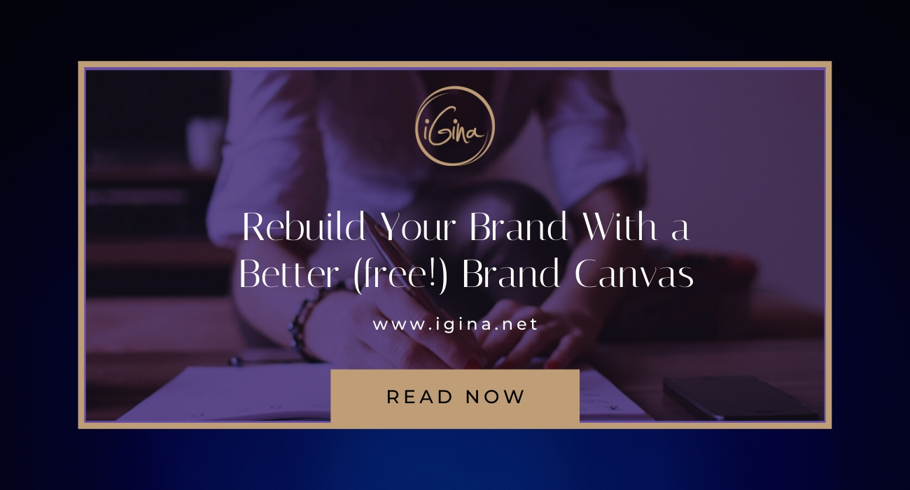 Rebuild your brand with my free brand canvas